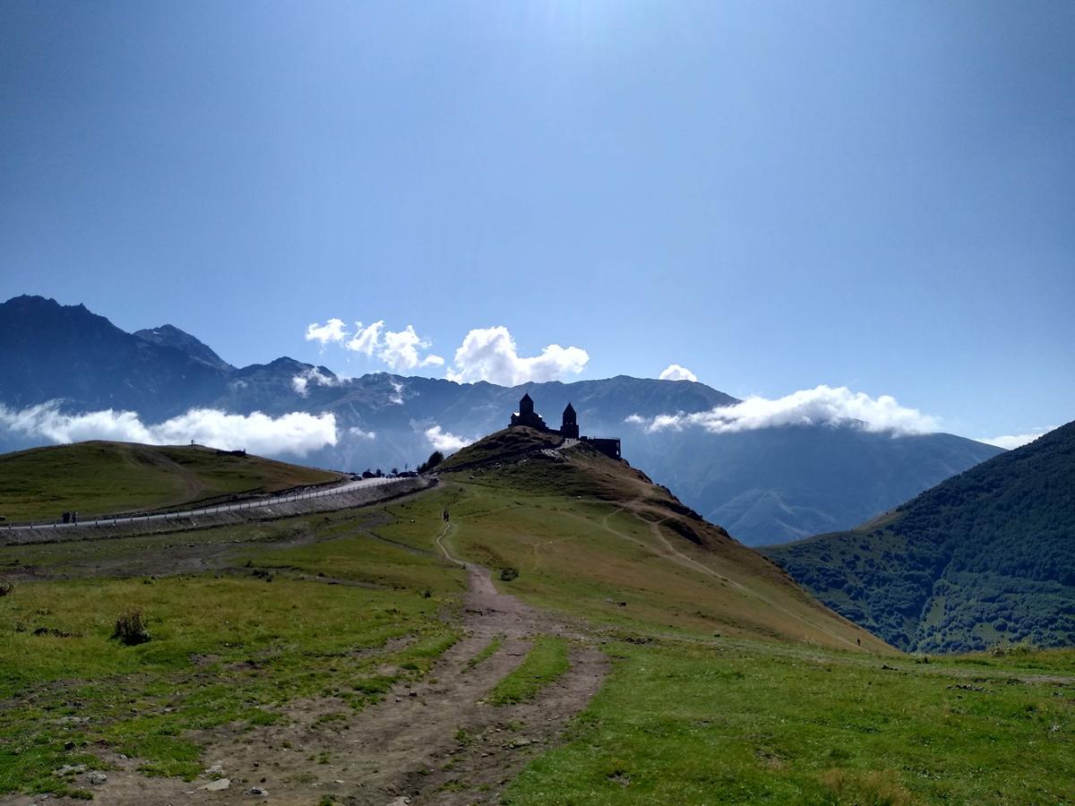 Kazbegi: Getting There and Hiking Gergeti Glacier
